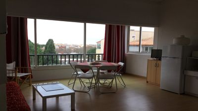 Photo for CAP D'AGDE Beautiful apartment very bright well equipped. Near shops and port.