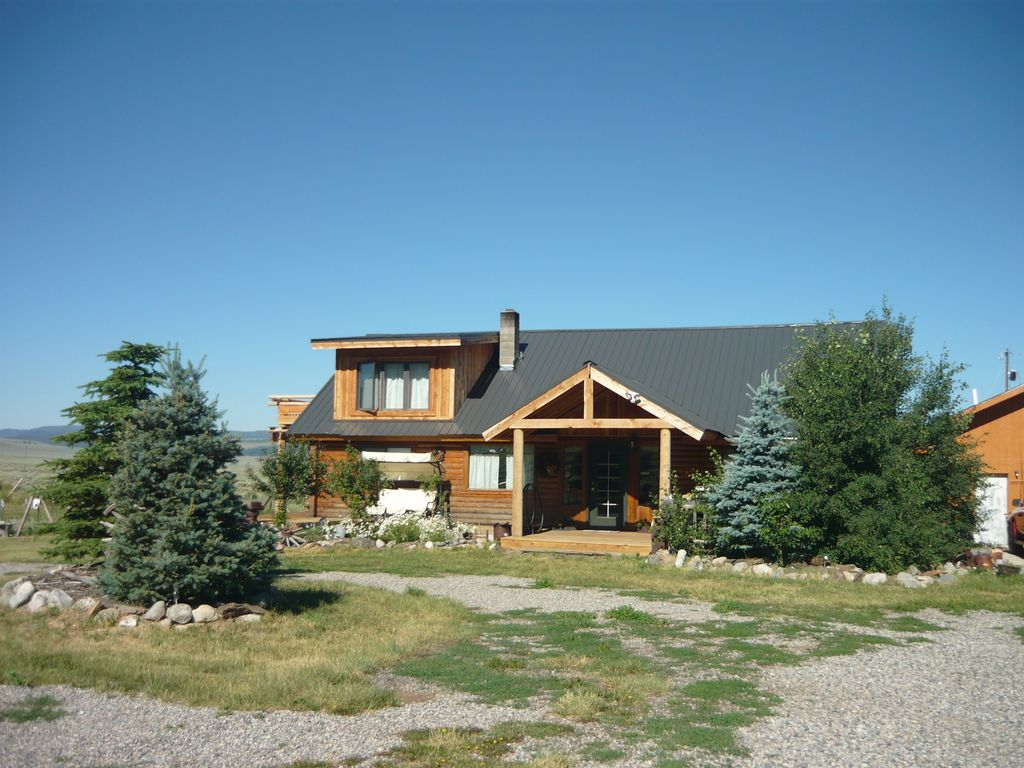 Immaculate Cameron Log House W Mtn Views Vrbo