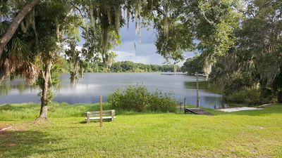 Photo for Lake front 2 bed 1.5 bath guest house PRIVATE