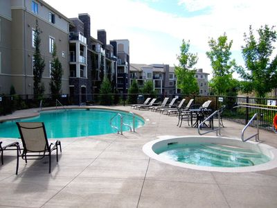 Photo for Luxurious Top Floor 2 BD, 2 Bath Condo at Pinnacle Point/Quail Ridge