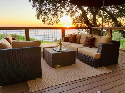 Photo for Couples Retreat Panoramic Views of Wine Country Private Vineyard Estate