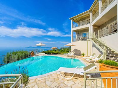 Photo for Villa Seascape-This villa offers a private pool with panoramic sea views & WI-FI