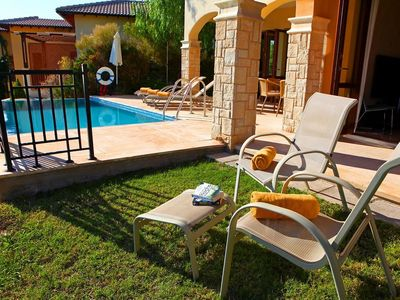 Photo for This 3-bedroom villa for up to 6 guests is located in Paphos and has a private swimming pool and air