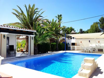 Photo for This 3-bedroom villa for up to 6 guests is located in Cala Vadella and has a private swimming pool,