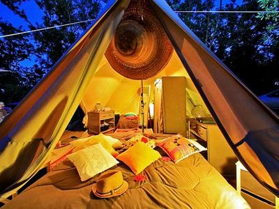 Photo for Camping La Paille Basse ***** - Glamping tent 4 People
