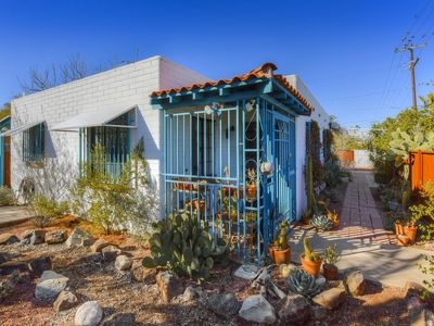 Photo for Tasteful, dog-friendly bungalow w/ a covered patio & fenced yard