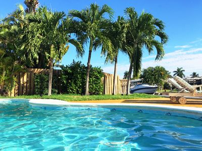 Photo for *** Modern holiday paradise on water with heated pool and access to the Ocean ***
