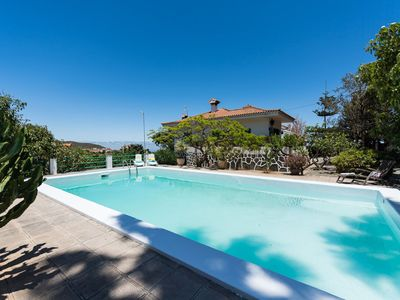 Photo for Beautiful private villa for 8 guests with private pool, WIFI, TV and parking