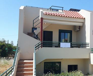 Photo for Nice little house with 2 bedrooms and terrace 7 minutes on foot from the beach