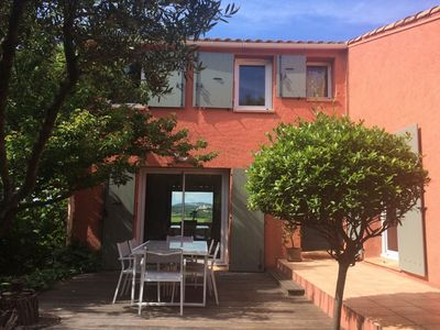 Photo for Charming house with stunning views of the Pic St Loup
