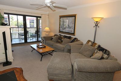 Comfortable and inviting living area for family to gather and relax together