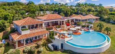 Photo for $100 USD Pre-Stocking Grocery Credit -  Ocean View - Located in  Magnificent Terres Basses with Private Pool