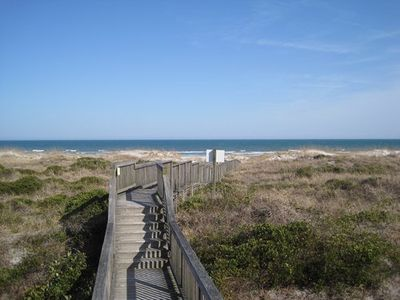 Photo for Wrightsville Dunes 1A-E - Oceanfront condo with community pool, tennis, beach