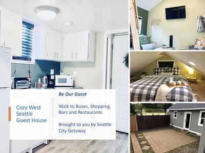 Photo for Sweet West Seattle Guest House - walk to - Bus, Shopping & Restaurants/Bars