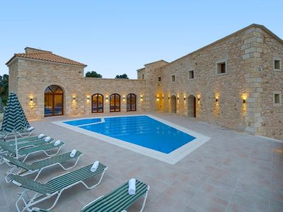Photo for Vacation home Villa Aria in Asteri, Rethymnon - 10 persons, 5 bedrooms