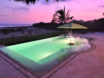 Photo for Beautiful Beachfront House for luxury, relaxed vacation  2-5 BDRM Rates discount