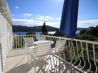 Photo for One bedroom apartment near beach Slano (Dubrovnik)