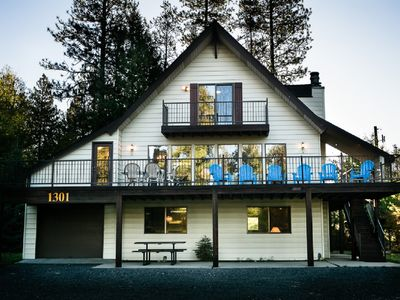 Photo for Large, Pet Friendly Home-Sleeps 16! Cable TV, WiFi And Walk To Town!