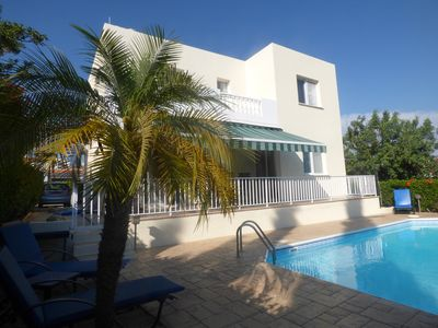 Photo for 3 Bed Detached Villa, Private Pool. A/C, WiFi, Sky TV & Use Of Car Included!