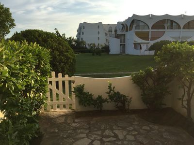 Photo for Superb sunny ground floor studio 50 m from the beach