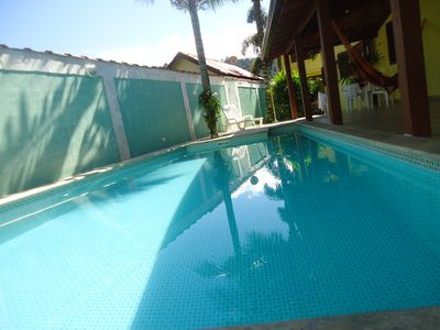 Photo for Charming house with swimming pool, 3 bedrooms, one suite, WI-FI, air conditioning.