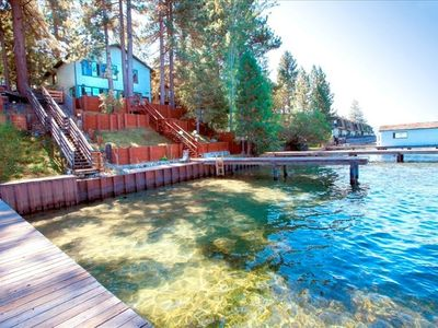 Photo for Lakefront With Panoramic Views Just Minutes To Ski Resort & Casinos