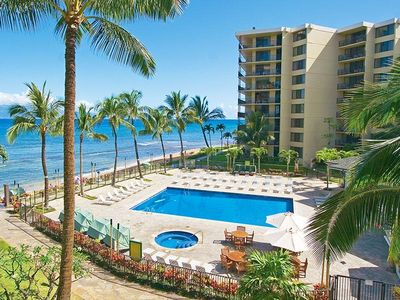 Photo for 2 BR Suite w/ Ocean Views, 2 Resort Pools, Scuba Lessons - Kaanapali Beachfront