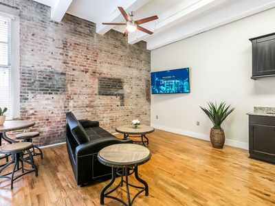 Photo for Modern 1bd Condo steps from French Quarter