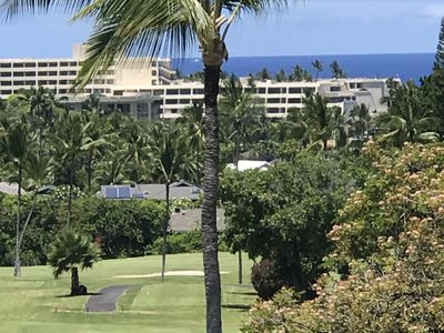 Photo for 100% cancel refund** Golf course luxury 2/2 condo on Golf  w/ocean views, WiFi