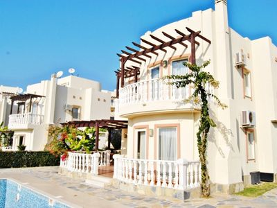 Photo for Bodrum Turquoise Residence Adabuku Site 4 Bedrooms Villa PC. 24-hour security, 7 swimming pools, heated indoor pool, Aqua Park vacation, Giant Chess, Tennis, Volleyball, Shopping center, Market; Some of the facilities you can find in TRQ Golf Residence Ad