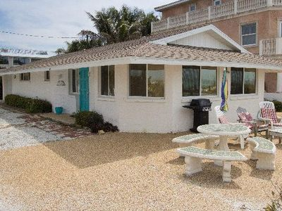 Photo for 2BR 2BA GRND Floor Unit Close to Shopping & Restaurants with Large Deck on Beach