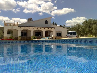 Photo for Luxurious, Spacious Home with Private Pool and Gardens