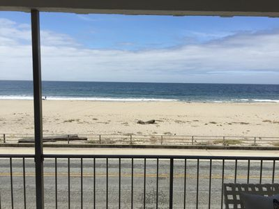 Blast to the Past in this 1960's Oceanfront Beach House with Remodeled Upstairs!