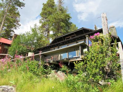 Photo for Davis Cabin -Authentic Lakefront Cabin With New Upper Deck Right On The Lake!