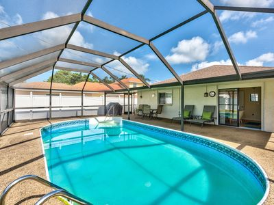 Photo for Naples Beach Rental; Private pool Home, Southern Exposure Pool, Vanderbilt Beach!