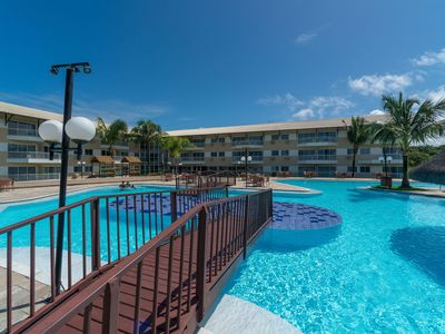 Photo for MRP 301 Pleasant flat with balcony and two bedrooms on the paradisiacal beach of Muro Alto.