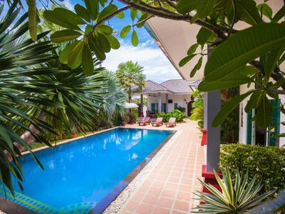 Photo for Shanti - Eclatante villa with 3 bedrooms large private pool and quiet garden