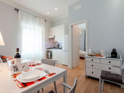 Photo for NEW CENTRAL APARTMENT AD. VIA VENETO STAY + 2 ROOMS + 2 BATHROOMS