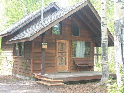 Photo for Kenai Wildlife Cabins, Moose Cabin