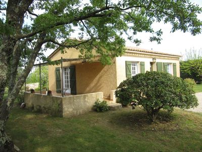 Photo for Nice house in a nice environment in the countryside and view of the Cevennes
