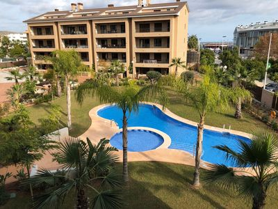 Photo for New apartment in Javea - 2 minutes walk from the beach with sea view