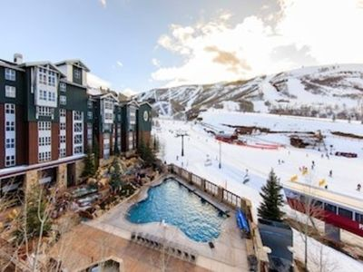 Photo for Marriott Mountainside Park City Utah  Ski in Ski Out Condo Jan 25 to Feb 1 2020
