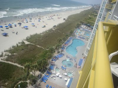 Photo for Gorgeous Oceanfront 3 Bedrooms Condo Sleeps 6-10 -Linens Included.