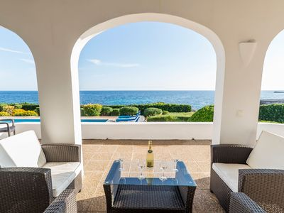 Photo for Stunning sea views and with pool - Villa Thalassa