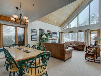 Log Cabin style condo sleeps 10 people, Ski in/out to Alta, Private indoor hot tub