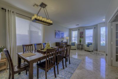 Formal dining and sitting room