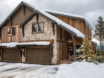 Photo for Luxury meets Rustic Charm in this 4BR Ski House on Big Mountain!