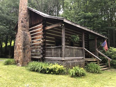 Photo for Secluded~Rustic~ Family Friendly ~    Cabin in the Wildwoods