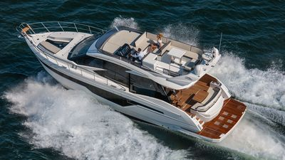 Photo for *BRAND NEW 50' Galeon w/Jet Ski & Extended Swim Platform*  Private Yacht Charter