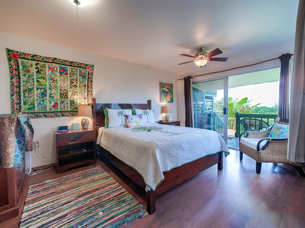 5 bedroom home with pool and ocean views princeville for 5 bedroom house with pool